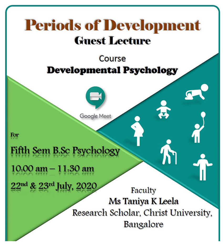 Periods of Development Course : Developmental Psychology